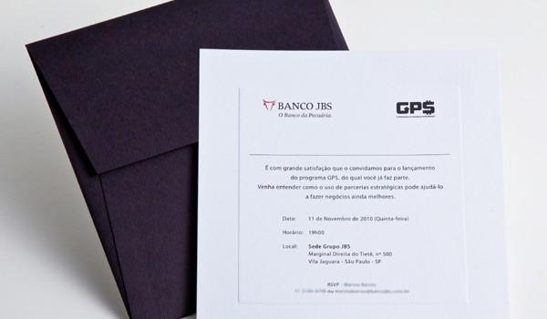 Convite Banco JBS