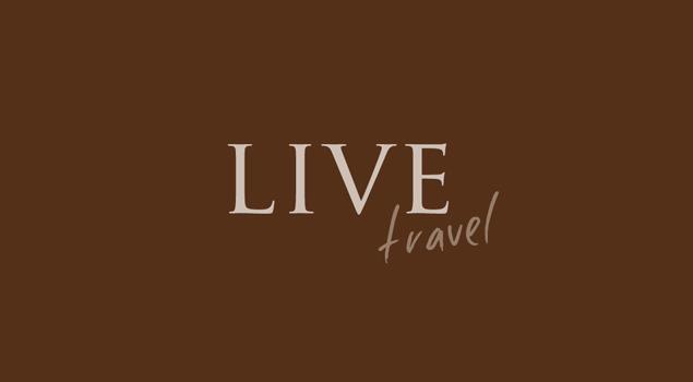 Criação da marca e identidade visual da empresa Live Travel