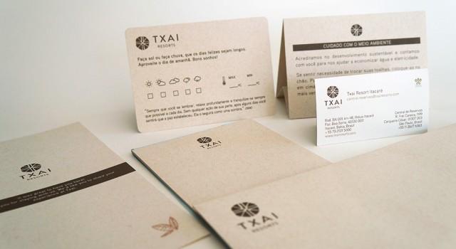 Nova Marca, Identidade Visual e Comunicação <br /> Txai Resorts