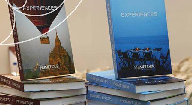 Projeto gráfico e editorial <br /> do livro de viagens <br /> Primetour