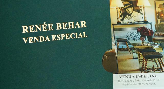 Comunicação para evento do antiquário Renée Behar