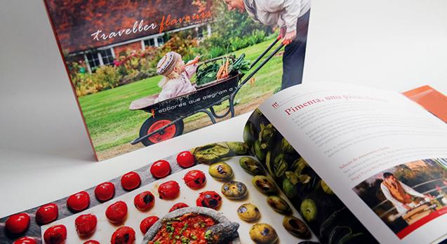 Livro<br/> Traveller Flavours <br/>Teresa Perez Tours