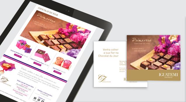 Comunicação <br/> Chocolat du Jour