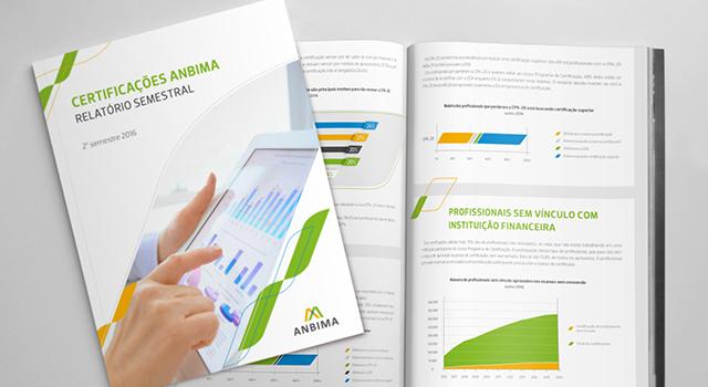 Informativos e relatórios <br/> ANBIMA